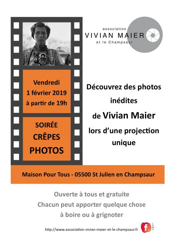 Affiche soiree crepes photos 1 fevrier 1