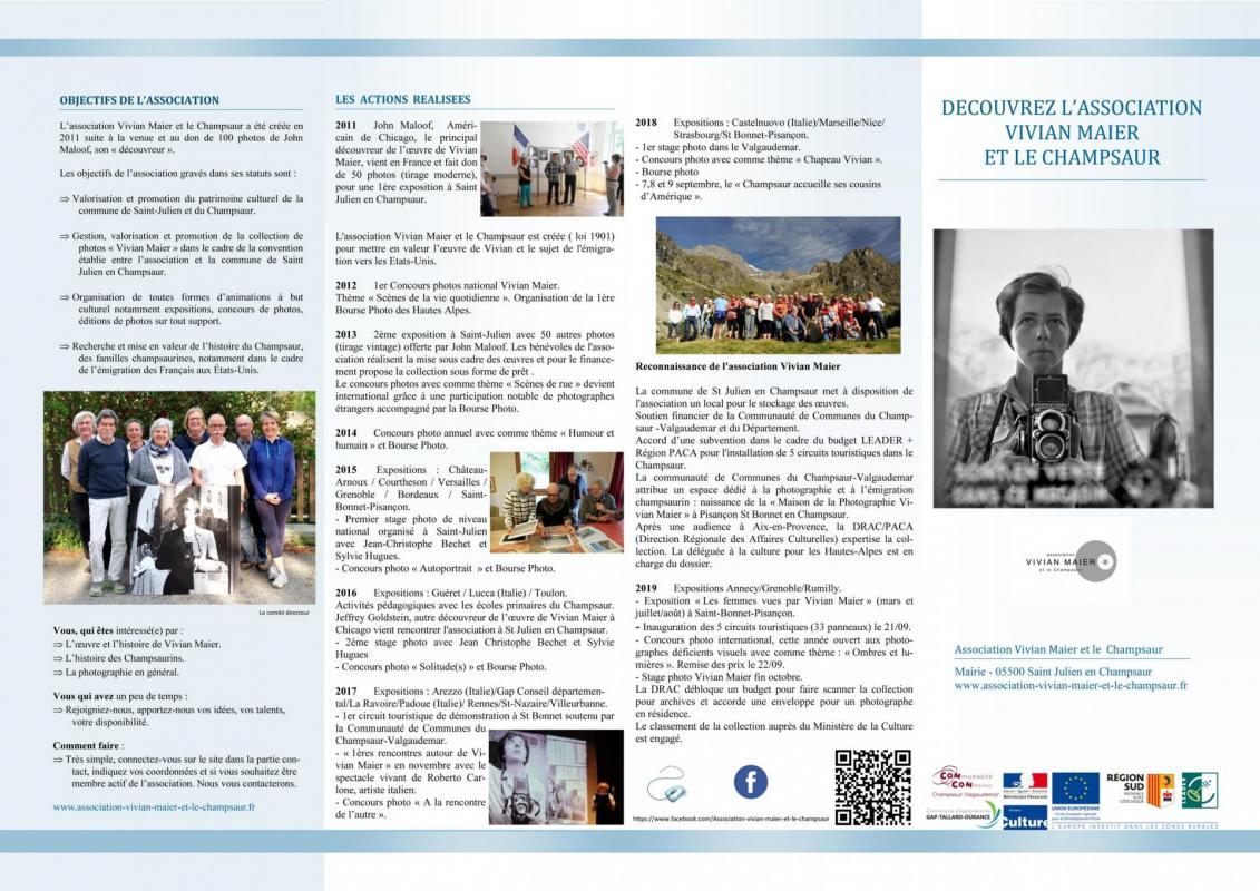 Flyer association vivian maier et le champsaur 1 reduit