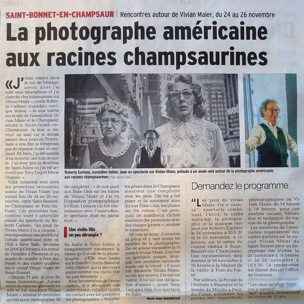 article du dauphine du 171117